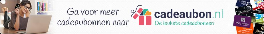 Ga voor meer cadeaukaarten naar cadeaubon.nl