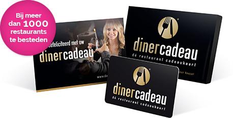 Nationale Diner Cadeaukaart - de cadeaukaart voor een diner naar keuze