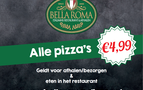 Nationale Diner Cadeaukaart Dieren Bella Roma