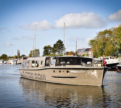 Nationale Diner Cadeaukaart Amsterdam KINboat Legerboot