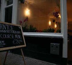 Nationale Diner Cadeaukaart Amsterdam Mantoe