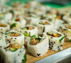 Nationale Diner Cadeaukaart Amsterdam Plant based Sushi