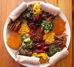 Nationale Diner Cadeaukaart Amsterdam Taytu Ethiopisch Restaurant